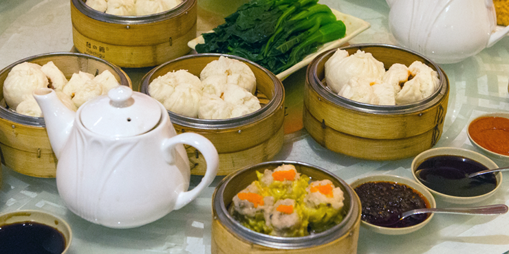 Chinese Dim-Sum in Chicago's Chinatown
