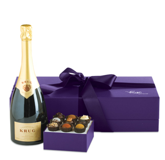 Vosges Krug and Truffle set from chicagofoodplanet.com @chifoodplanet