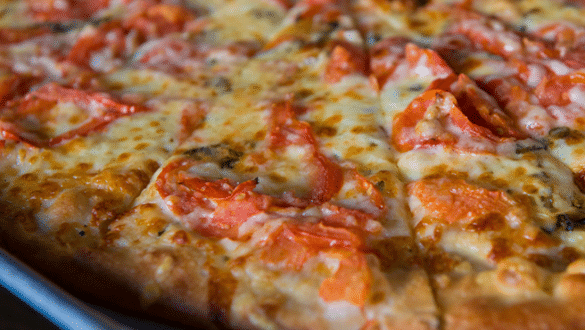 Piece Thin Crust New Haven-Style Pizza