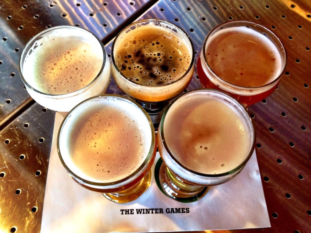 Howell's and Hood Olympics-Inspired Beer Flight