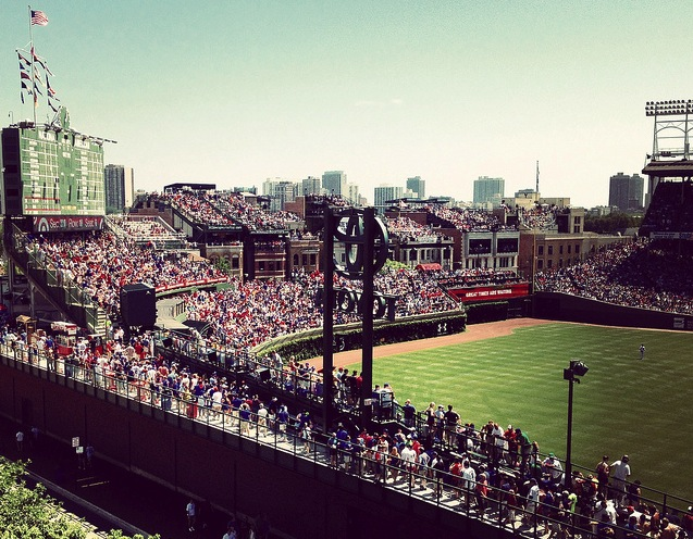 Wrigley Field from Flickr https://flic.kr/p/cGk7fm