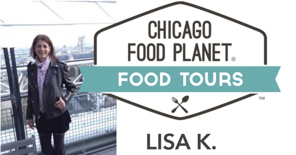 Lisa Chicago Food Planet