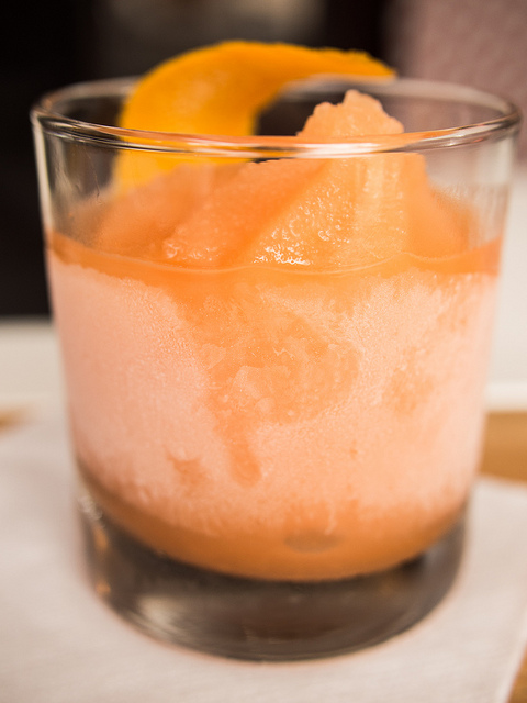 Parson's Chicken & Fish Negroni Slushy