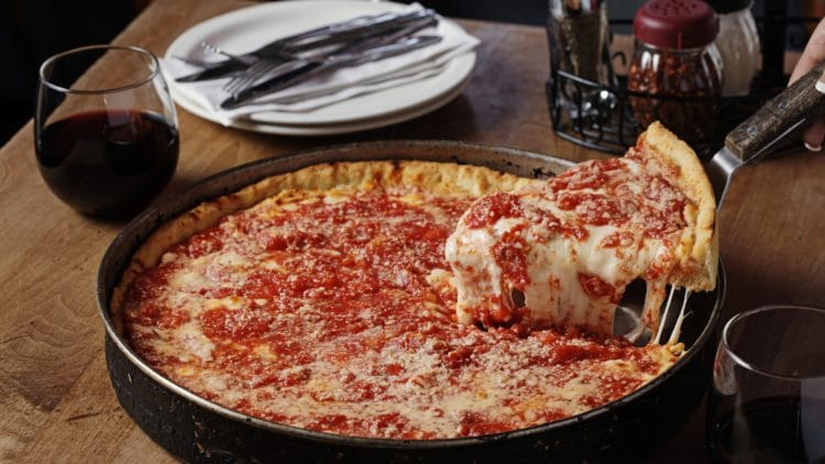 Lou Malnati's Deep Dish (Photo Cred: Lou Malnati's)- Used With Permission