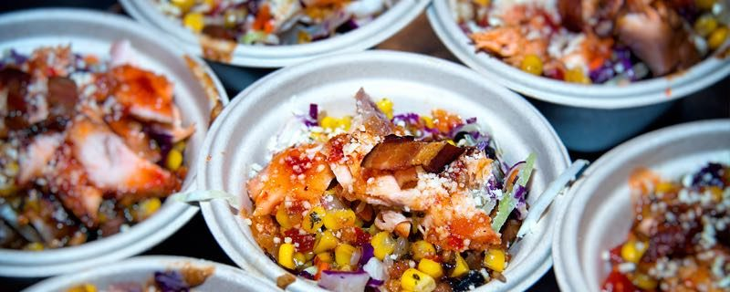 Buzz Bait Salmon Bowl