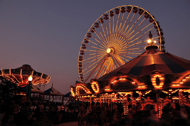 Chicago Navy Pier Ferris Wheel Tickets
