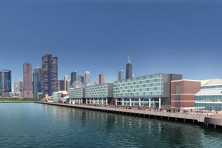 Chicago Navy Pier Hotels and Accommodations