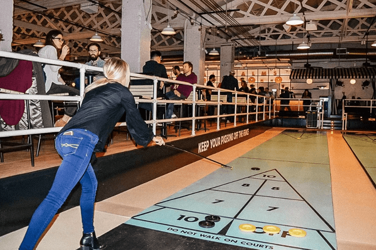 chicago shuffleboard royal palms