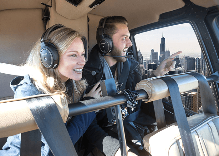 helicopter tours chicago romantic ideas