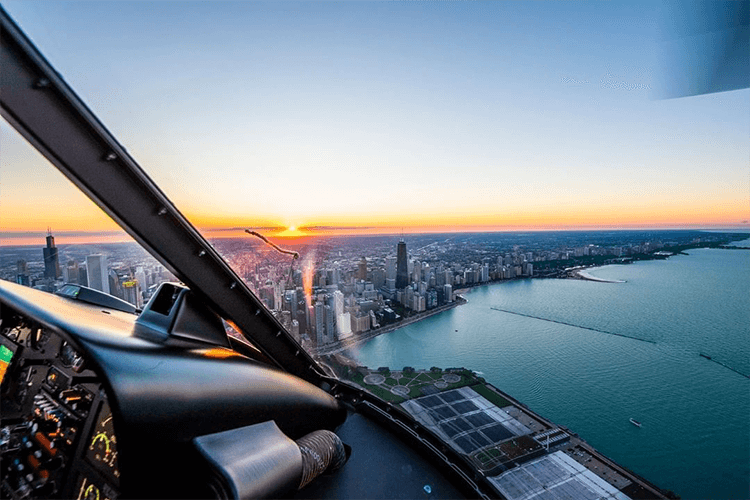 chicago helicotpor tours