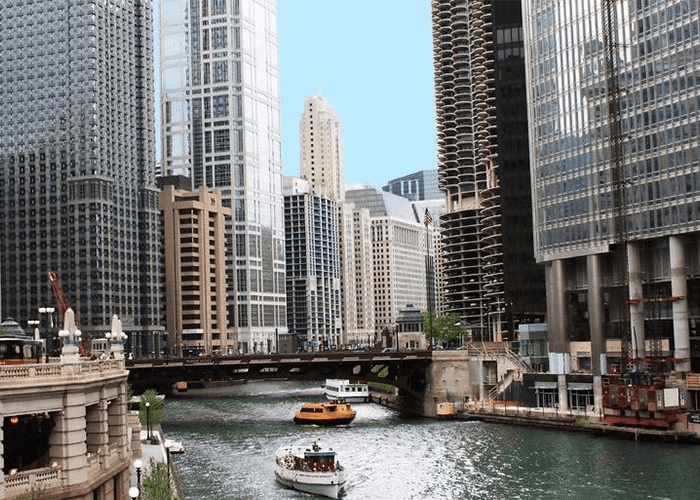 chicago boat tours water taxi