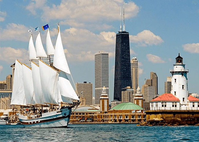 chicago sailing boat tours